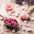 homeopatikus · tengeri · só · levendula · száraz · virágok · fából · készült - stock fotó © gitusik