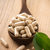 vitamine · pillen · lepel · kruiden - stockfoto © gitusik
