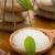 海塩 · 緑色の葉 · スパ · 石 · 値下がり - ストックフォト © gitusik