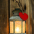 Рождества · свечу · фонарь · фары · стены - Сток-фото © gitusik