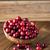 tazón · frescos · rojo · vidrio · blanco - foto stock © gitusik