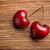 çift · kırmızı · tatlı · kiraz · yalıtılmış · beyaz - stok fotoğraf © gitusik