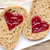 gabona · szelet · kenyér · lekvár · szív · alak · eper - stock fotó © gitusik