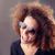 女子 · 口 · 面對 · 空間 · 肖像 - 商業照片 © giulio_fornasar