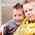 dois · crianças · brincando · pequeno · meninos · diversão - foto stock © giulio_fornasar