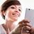женщину · мобильного · телефона · поиск · экране · любимый - Сток-фото © Giulio_Fornasar