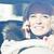 женщину · вождения · автомобилей · мобильного · телефона · европейский · телефон - Сток-фото © giulio_fornasar