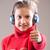 右 · 音楽 · 女の子 · 浅い · フィールド · 音楽を聴く - ストックフォト © Giulio_Fornasar