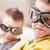 legal · adolescentes · óculos · de · sol · sessão · rua · cidade - foto stock © giulio_fornasar