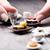 gelado · café · conjunto · coleção · Dublin · creme - foto stock © giulio_fornasar
