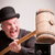 madcap laughs with big hammer on money stock photo © giulio_fornasar