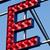 e letter circus neon sign stock photo © giulio_fornasar