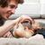 godny · podziwu · właściciele · palce · mały · psa - zdjęcia stock © Giulio_Fornasar