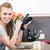 fotograaf · keuken · opleiding · hartstochtelijk · vrouw · trouw - stockfoto © Giulio_Fornasar