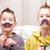funny face boys and mustaches stock photo © Giulio_Fornasar