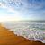 belo · macio · ondas · reflexão · quebrar · praia - foto stock © givaga