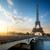 Eyfel · Kulesi · nehir · Paris · Fransa · bağbozumu - stok fotoğraf © givaga