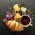 Кубок · кофе · круассан · красный · свежие · горячей - Сток-фото © givaga