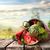 арбуза · корзины · изолированный · белый · продовольствие · фрукты - Сток-фото © givaga
