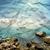 stony beach on paper texture stock photo © givaga