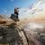 tourist on rock stock photo © givaga