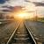 railroad and station stock photo © givaga