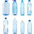 Collage of water bottles stock photo © Givaga