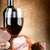wine and meat on a canvas stock photo © givaga
