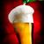 bière · vert · verre · lumière · fond - photo stock © givaga