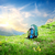 backpack in mountains stock photo © givaga