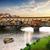Floransa · köprü · 10 · su · Bina · seyahat - stok fotoğraf © givaga
