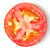 half a tomato isolated over white stock photo © givaga
