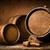 hordó · dugóhúzó · fából · készült · asztal · textúra · étterem - stock fotó © givaga