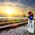 信号 · 赤 · 信号 · 鉄道 · 鉄道駅 · 赤信号 - ストックフォト © givaga