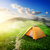 tent in valley stock photo © givaga