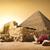 piramis · Belize · ősi · égbolt · természet · kő - stock fotó © givaga