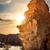marrom · amarelo · laranja · rocha · desfiladeiro · abstrato - foto stock © givaga