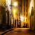 Servicio · noche · verona · Italia · casa · pared - foto stock © givaga