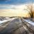 田舎道 · 美しい · 日没 · ツリー · 草 · 道路 - ストックフォト © givaga