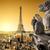 Paris · architecture · Tour · Eiffel · ciel · bâtiment - photo stock © givaga
