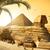 エジプト · ピラミッド · 有名な · 古代 · 砂漠 · 芸術 - ストックフォト © givaga