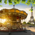 carousel and eiffel tower stock photo © givaga