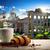 ローマ · フォーラム · ローマ · 表示 · イタリア · 雲 - ストックフォト © givaga
