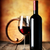 wine on wooden table stock photo © givaga