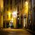 кафе · ночь · Верона · Италия · дома · стены - Сток-фото © givaga
