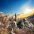 谷 · 幽霊 · ウクライナ · 山 · 空 · 日没 - ストックフォト © givaga