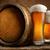 vat · bier · premie · kwaliteit · muur · hout - stockfoto © givaga