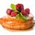 bun with raspberry and pineapple stock photo © givaga
