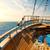statek · wycieczkowy · horyzoncie · wygaśnięcia · mętny · burzliwy · wieczór - zdjęcia stock © givaga