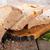 cuchillo · pan · madera · bordo · blanco · pera - foto stock © givaga